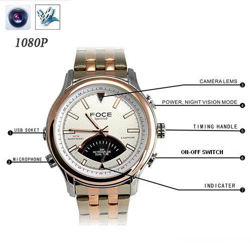 SPY SUPER SLIM HD WATCH CAMERA